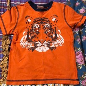 Hanna Andersson size 120 (6-7) tiger tee